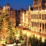 Брюссель зима