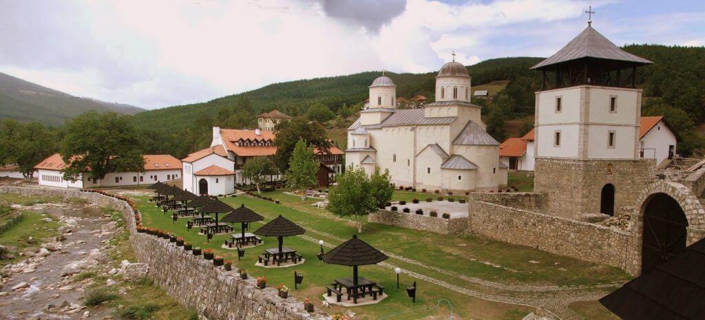 Сербия монастыри