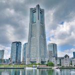 Йокогама 1993 высокое здание