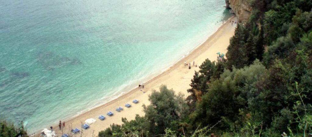 пляж гуванце будва