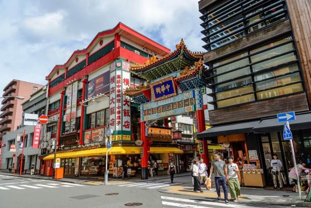 Йокогама китайский квартал