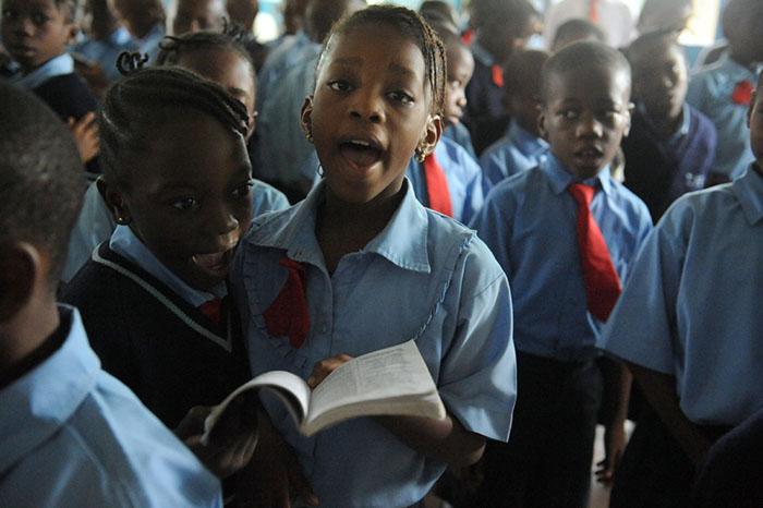Ямайка школа молитва