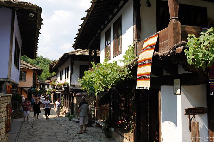 Болгария деревенька