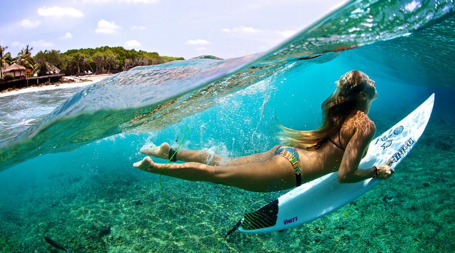 Мальдивы серфинг
