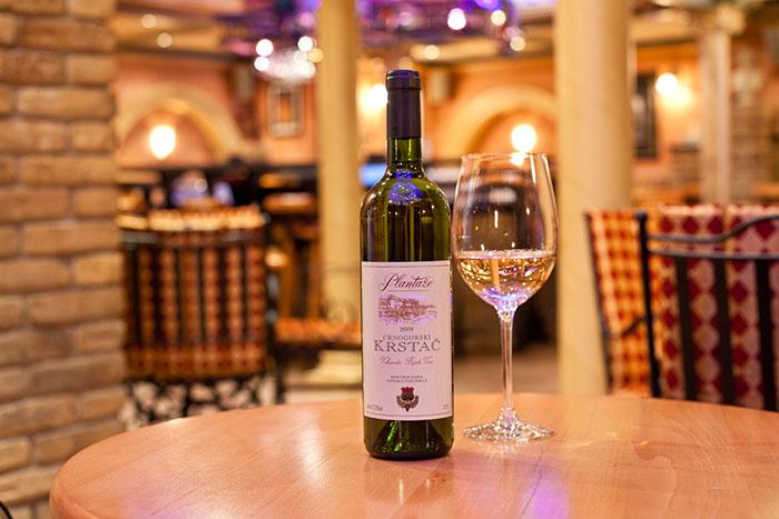 местное вино Черногория