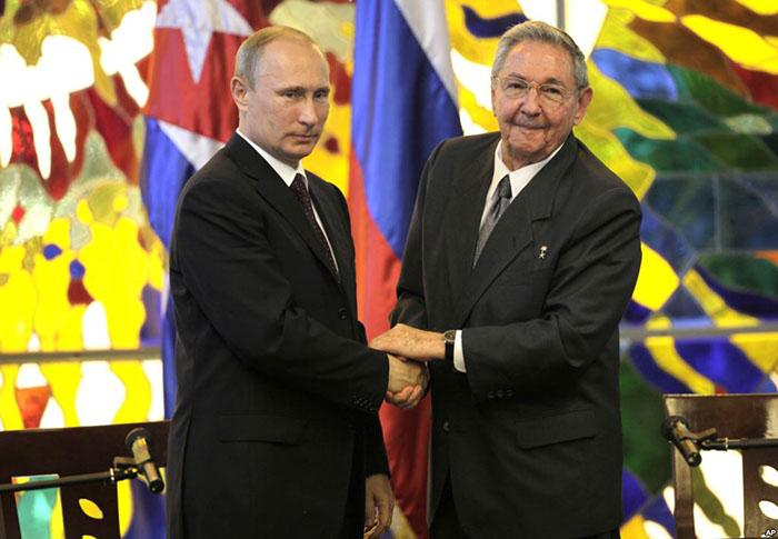Россией Куба