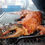 Вьетнам мясо крокодила