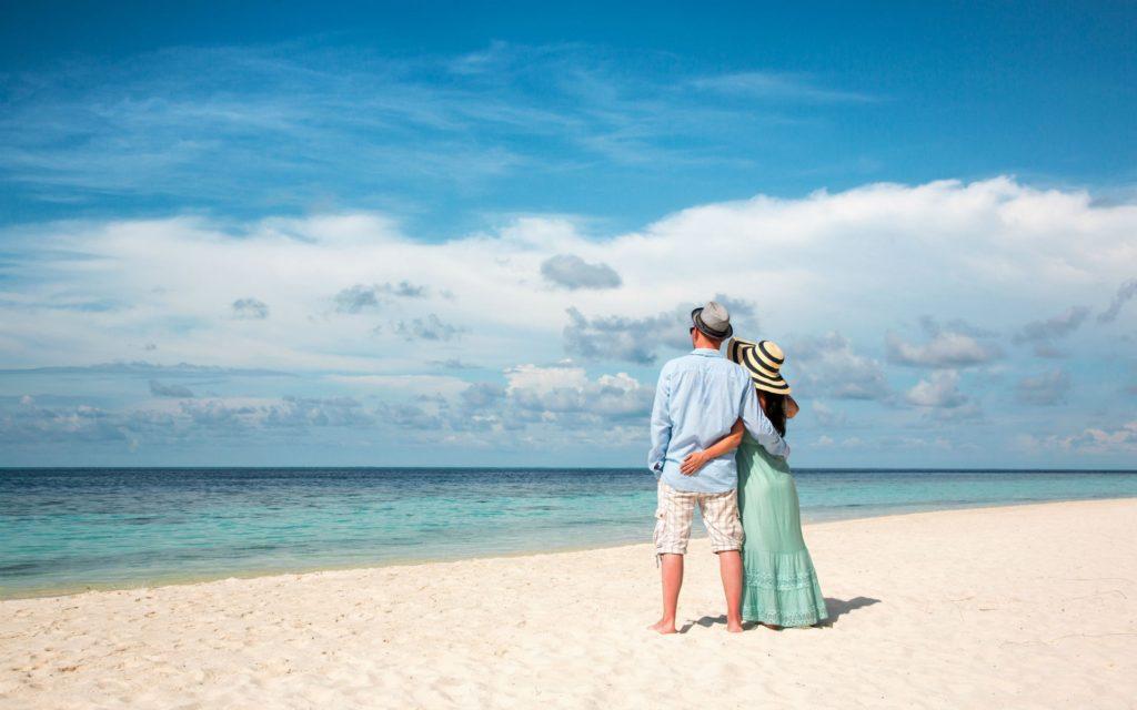 Мальдивы влюбленные пары