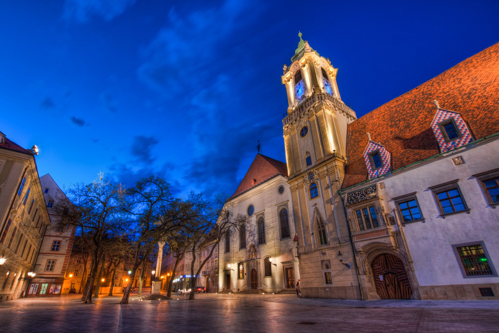 Старая ратуша Братислава