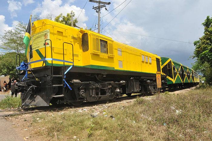 Ямайка железная дорога