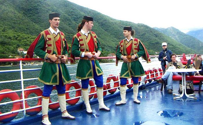 Черногория высокие люди