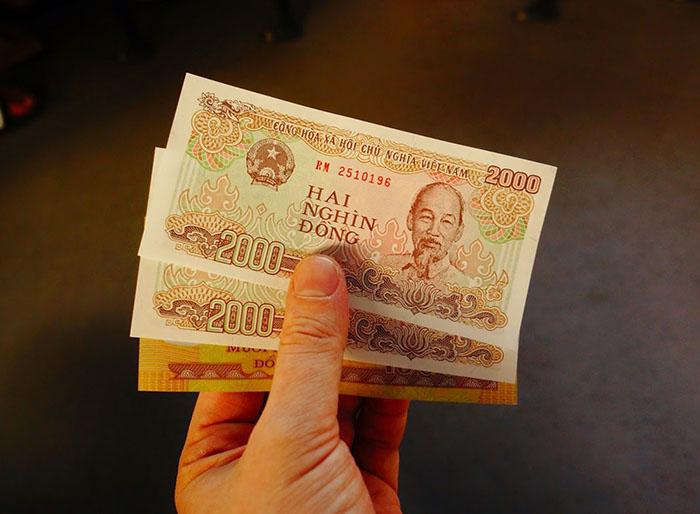 Вьетнам деньги сделаны из пластика