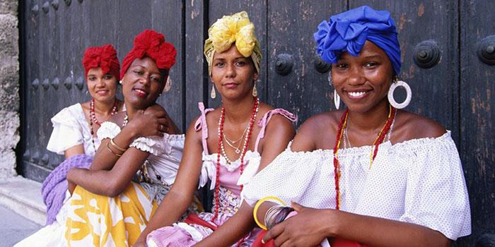 добродушное население Куба