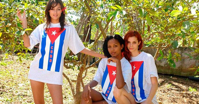 девушки Куба