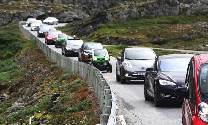 Норвегия автомобиль