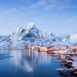 Норвегия зима